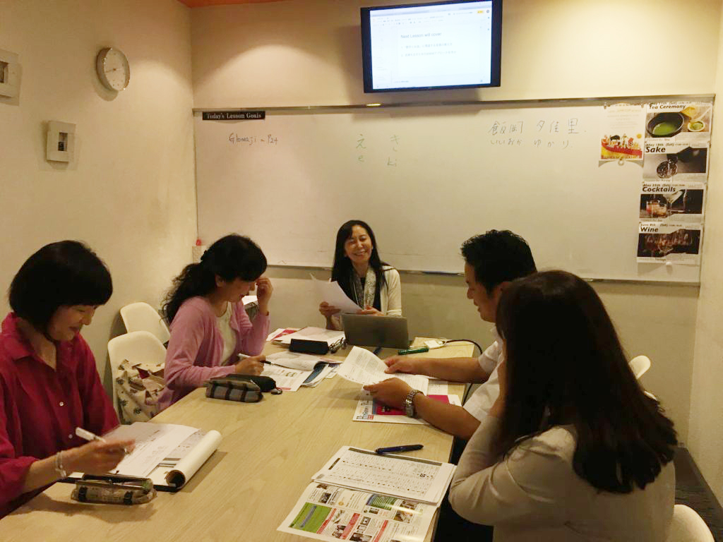 日本語講師養成講座の様子