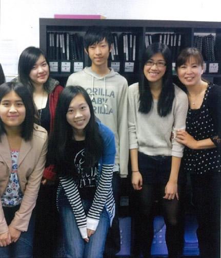 オーストラリアで日本語クラスの学生達と