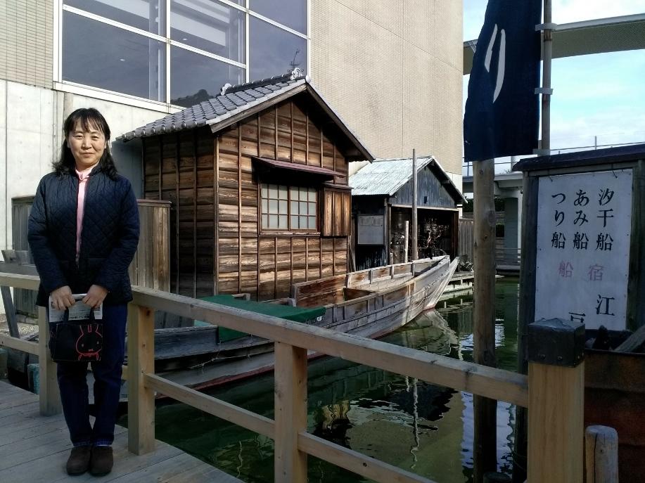 浦安市郷土博物館(千葉県)にて